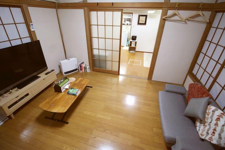 LOCAL Tokyo life! 2 tatami rooms, 3min train Sta✋
