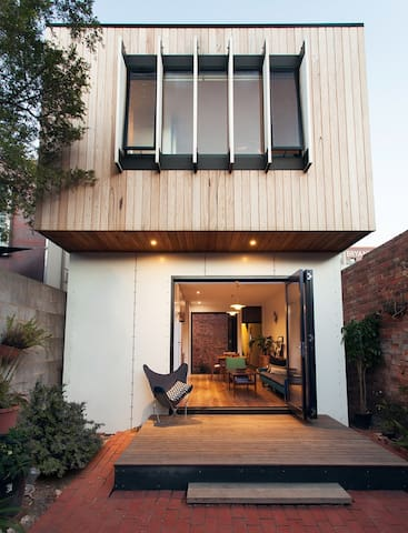 Designer 2 fl house with rooftop - Cremorne - House