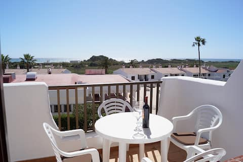 Apartment near to the beach with sea view