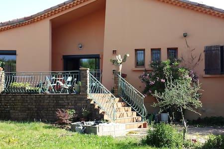 grande villa avec jardin arboré - Saint-Didier-sous-Aubenas - Dom