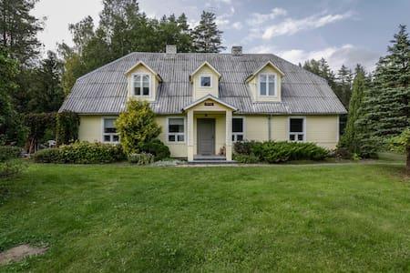 Uuejärve house at Kõrvemaa forest - Pillapalu, Anija - Casa