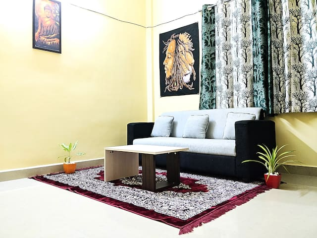 Beautiful Entire 1 BHK. (Peaceful Artistic Place)