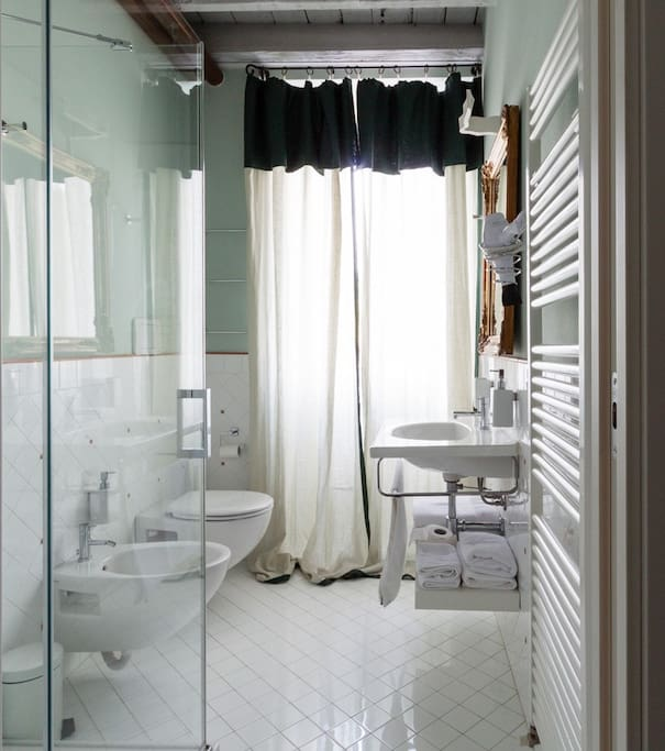 Bagno della suite Lavanda