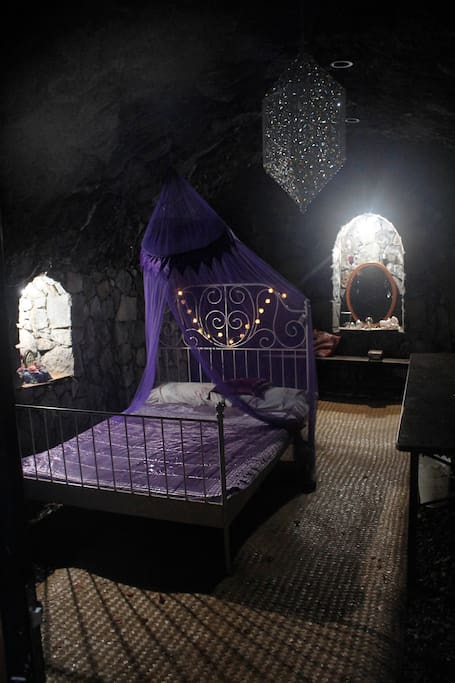 The magic cave is a historical cave which has been renovated as a bodega