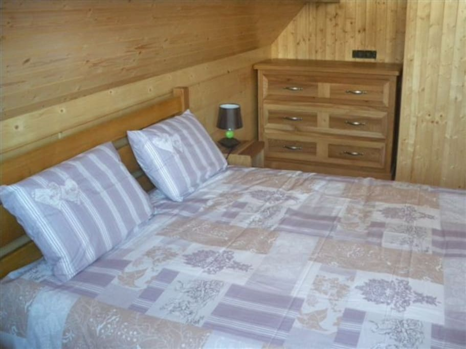 Chambres douillettes et confortables