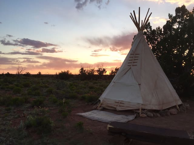 Rest in the West and Nest in a Tipi