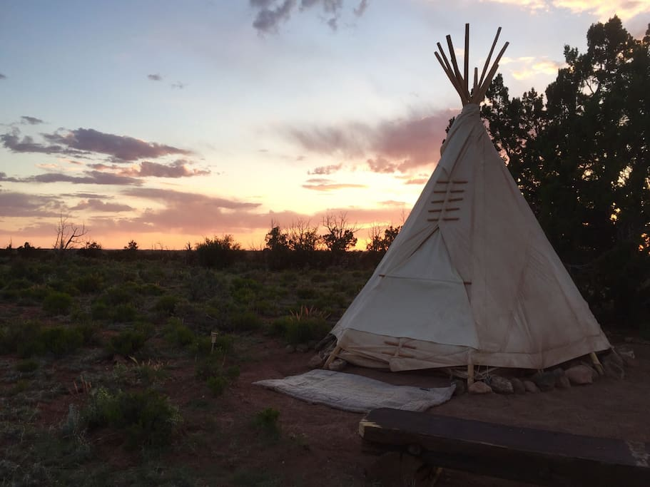 Rest In The West And Nest In A Tipi Tipis For Rent In