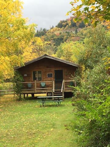 """Catskill Mountain """"Oquago"""" Cabin"""