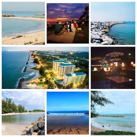 Seaview luxury condo Rayong - เมืองระยอง - Apartemen