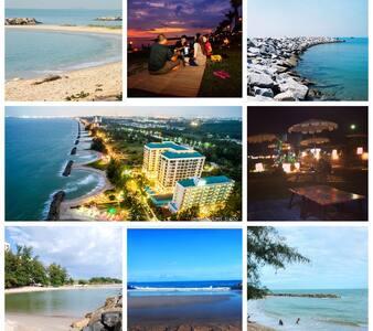 Seaview luxury condo Rayong - เมืองระยอง - Wohnung