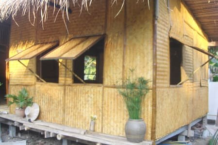 Thailand Bamboo Hut Experience - Bang Rachan - Hütte