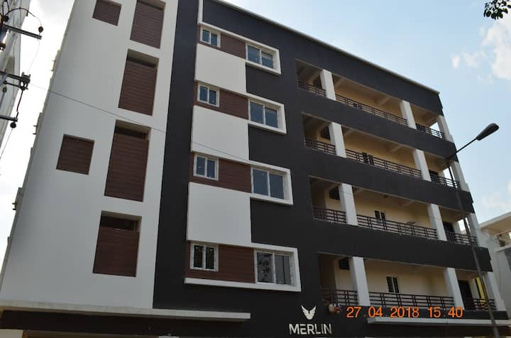Well Furnished 2 BHK Flats Near Gachibowli