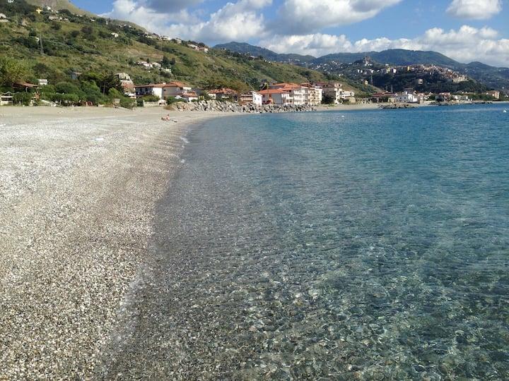 Villa in riva al mare.