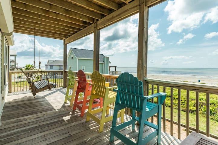 Osprey Watch - Beachfront Beauty with Multi-Level Water Views!