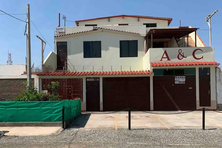 1 - Casa Apartamento Bujama, Baja, Mala,Lima-peru