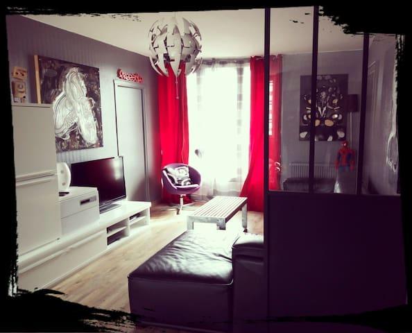Appartement t4 familial à 15 mn de Lille.
