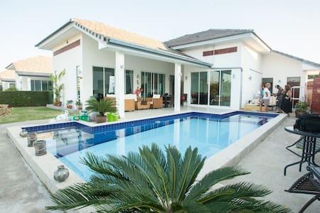 Fin poolvilla,familjevänlig - Tambon Hua Hin - Rumah