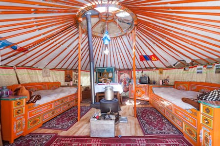 Room type: Private room Property type: Yurt Accommodates: 2 Bedrooms: 1
