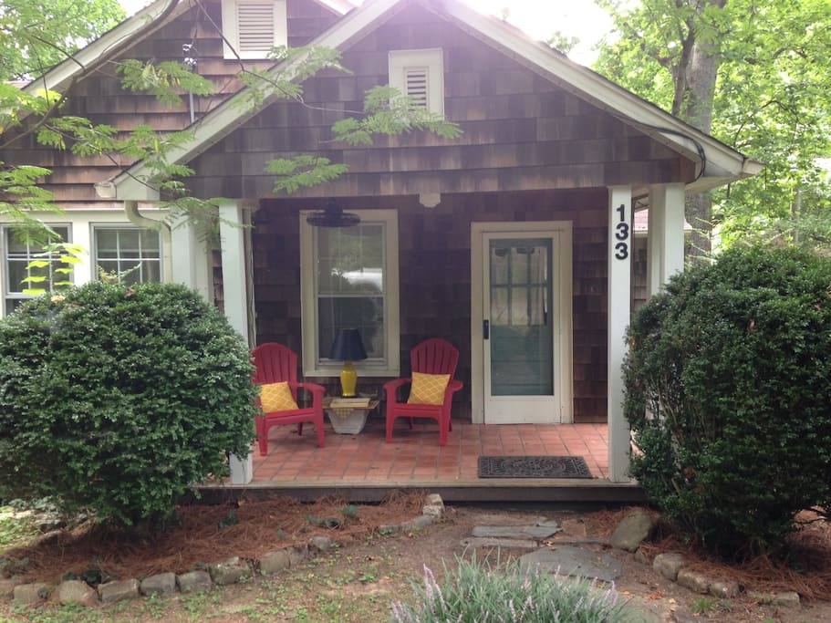 Front entrance with porch