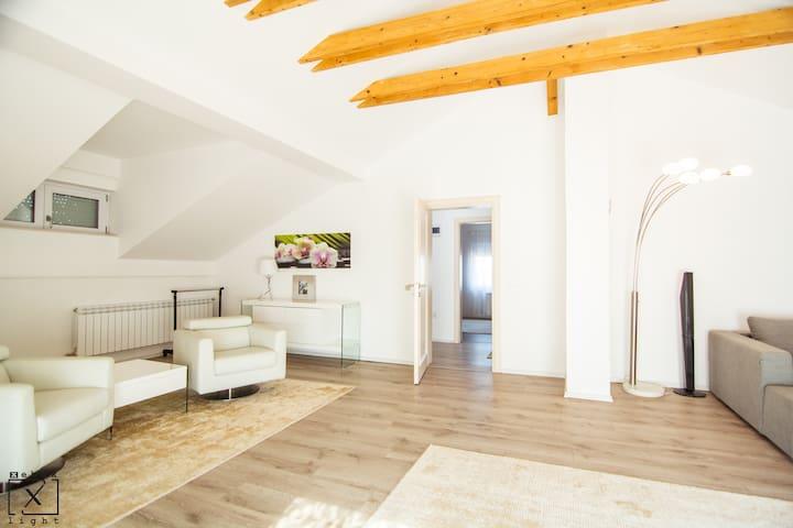 Cosy attic apartment