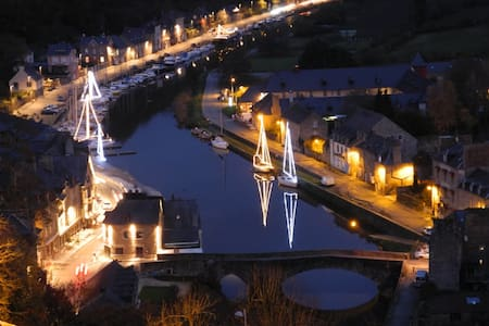 Dinan port, four bedroom house - Lanvallay - Hus