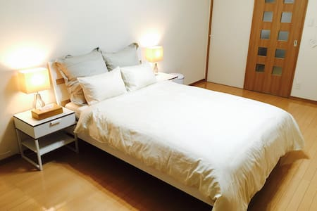 5 minute from hakata sta! Pocket Wi-Fi ! - 福岡市 - Flat