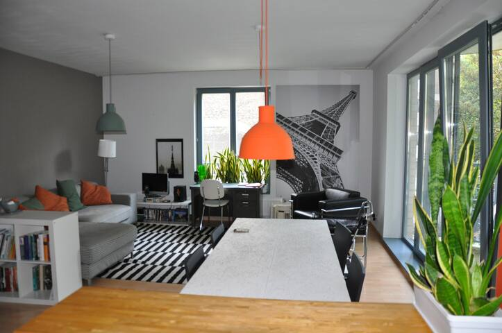 100m² in exciting West-Brussels - Sint-Jans-Molenbeek - Apartemen
