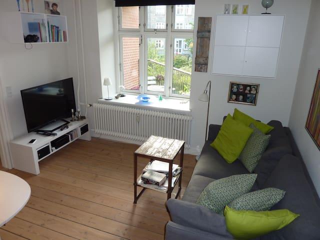 Hyggelig lejlighed i Århus C - Aarhus - Appartement