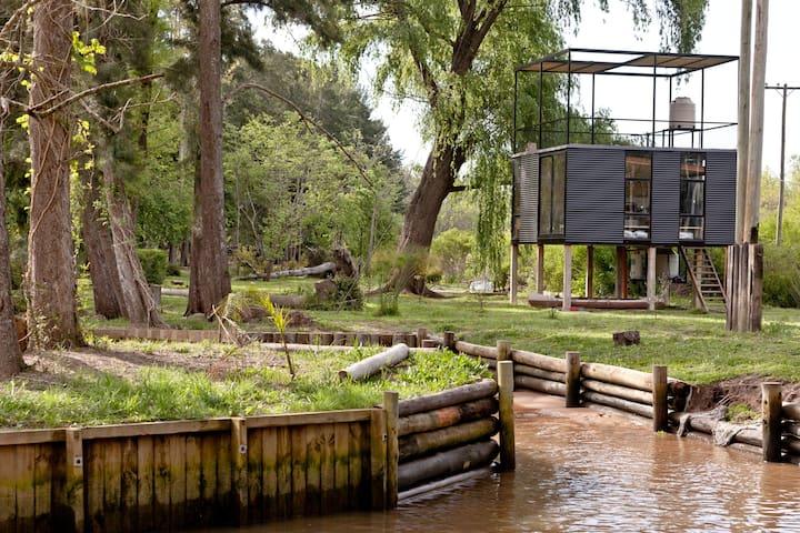 Cabaña Finlandia en el Caraguata  - Tigre  - บ้าน