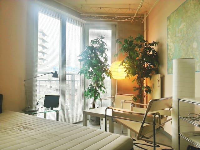 kleines gemütliches Zimmer - Berliini - Huoneisto