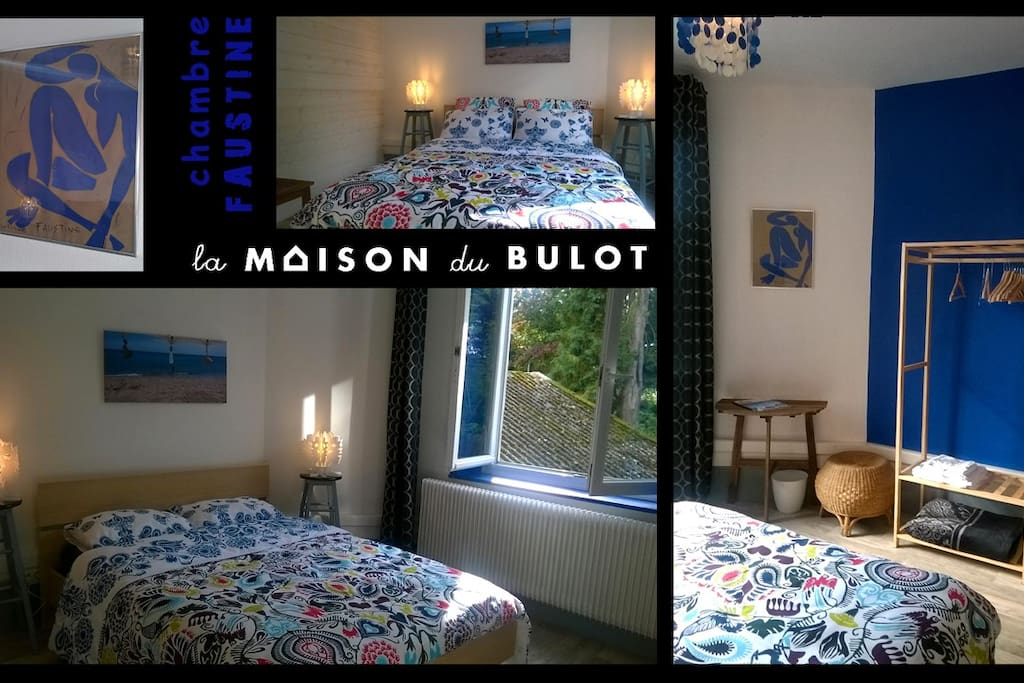la maison du bulot chambrefaustine bed and breakfasts for rent in fruges nord pas de calais. Black Bedroom Furniture Sets. Home Design Ideas