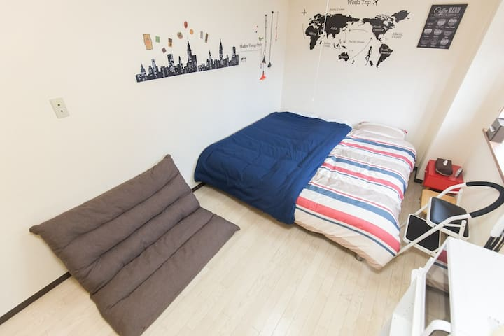 Studio Apartment nrSTA Easy>Tennoji, Namba WiFi