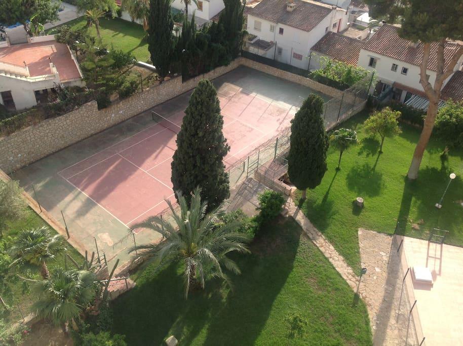 tennis jardin
