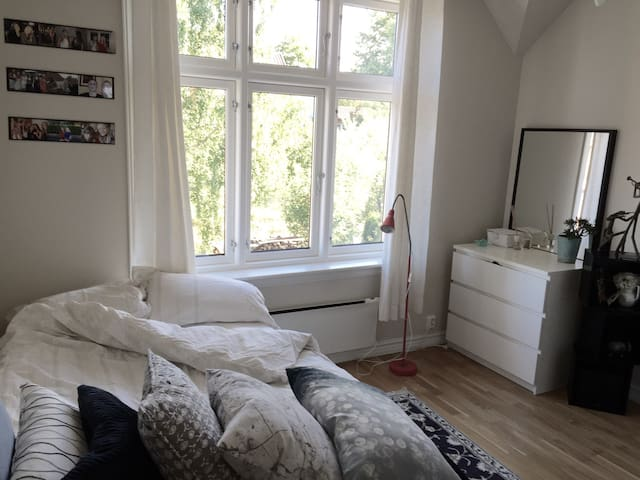 Central, charming and quiet - with sea view - Oslo - Villa