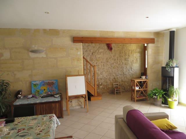 Charmante maison de ville à Eysines