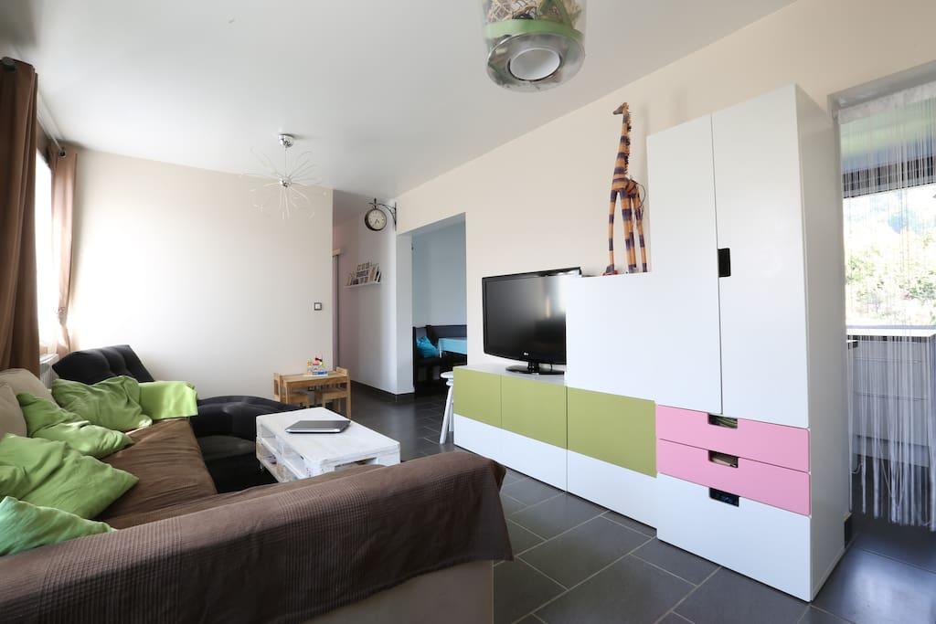 appartement jardin flats for rent in villard bonnot rhone alpes france. Black Bedroom Furniture Sets. Home Design Ideas