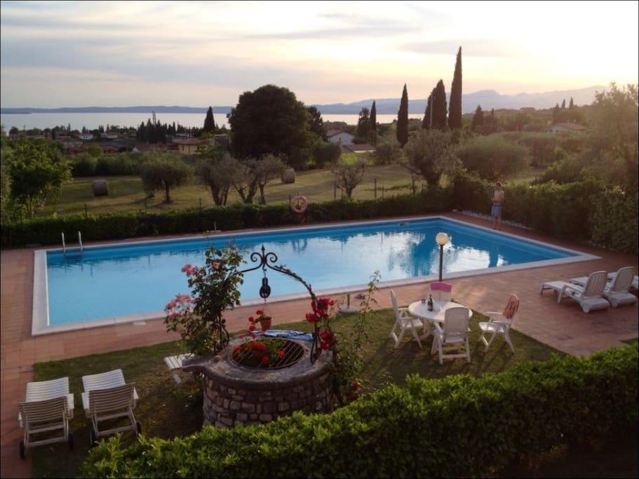 Prestigioso con vista piscina wohnungen zur miete in - Hotel con piscina verona ...