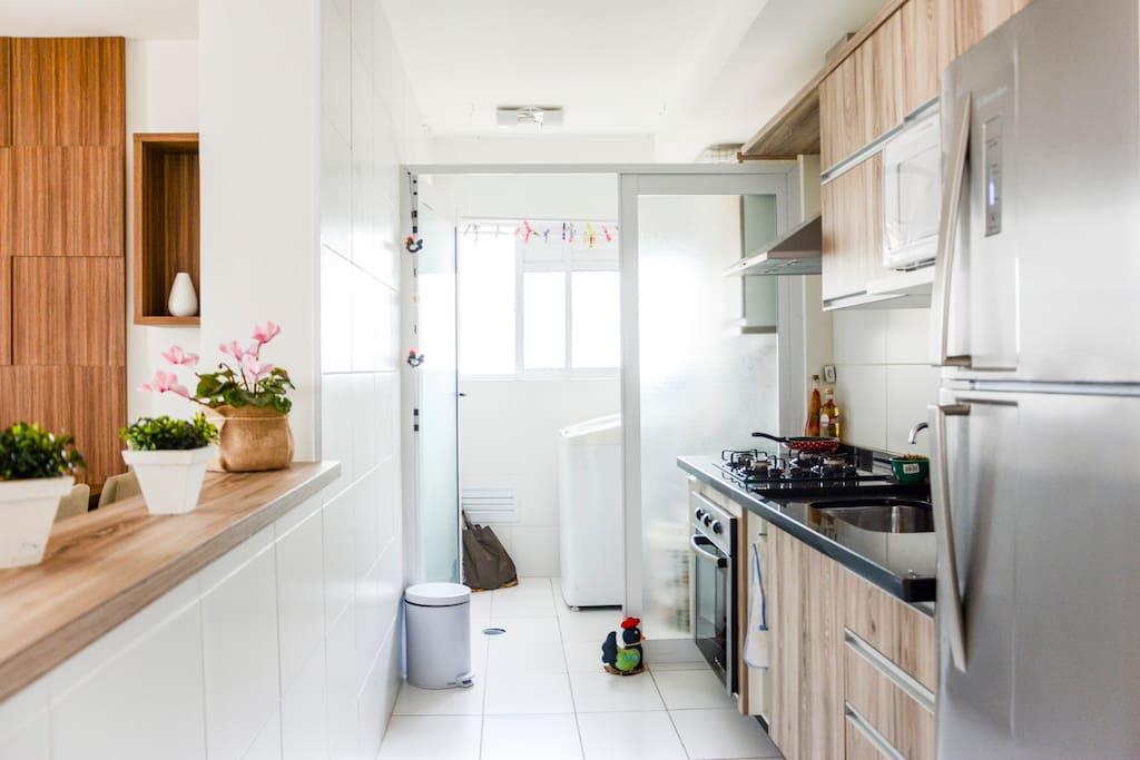 Restante da casa - cozinha