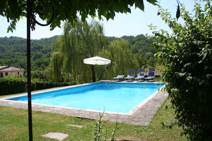 Large Villa, pool, exclusive use - Soliera - Leilighet