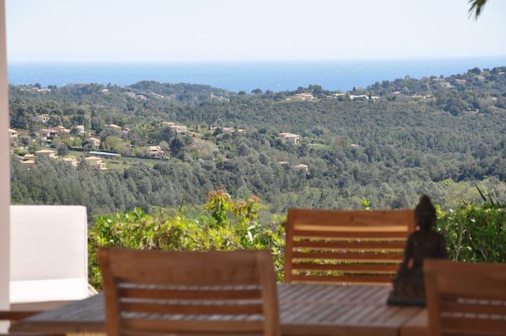 Tip-top villa with seaview Valbonne - Valbonne - Villa