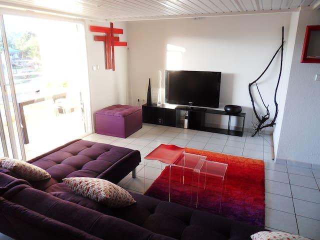 BEAU T3  MEZZANINE ET BIEN SITUE! - Remire-Montjoly - Apartment