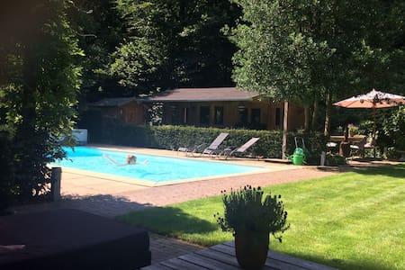 Luxe woning met zwembad aan bosrand - Dieren - Dům