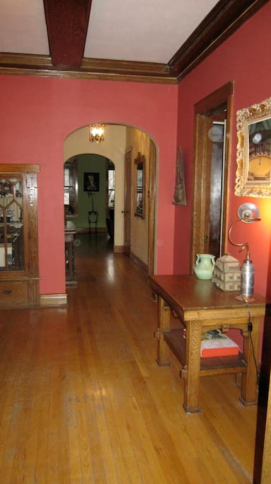 Hallway from dining room