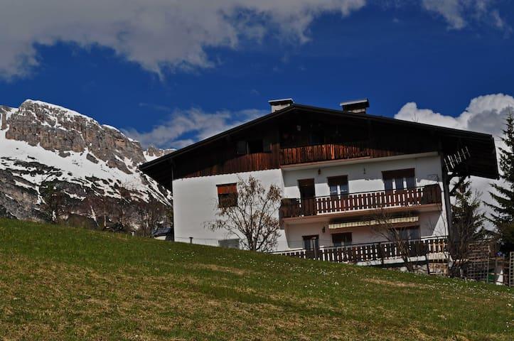 Casa Sergio piste socrepes 1 piano - Cortina d'Ampezzo