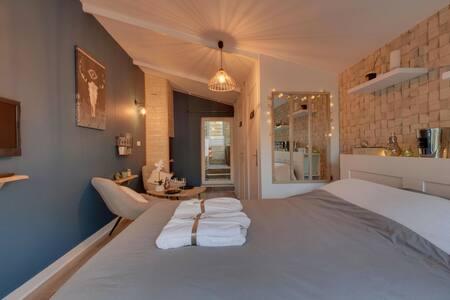Suite Caen'pagne & Spa - avec jacuzzi privatif