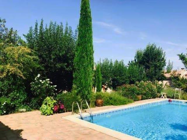 B&B in Beautiful 150yr old Village House + Pool