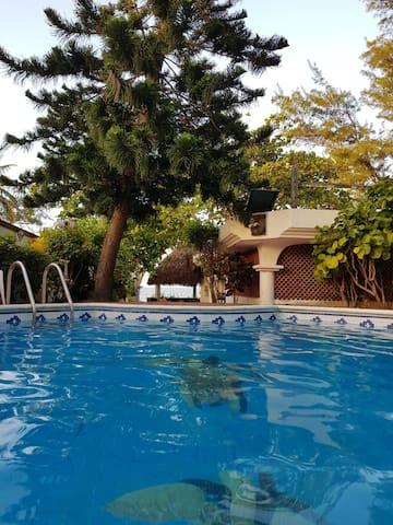 Casa de descanso Costa Esmeralda (Playa privada)