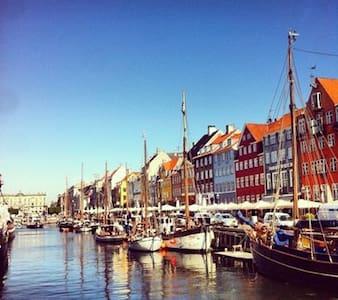 Loft apt,city,private roof terrace - Kopenhagen