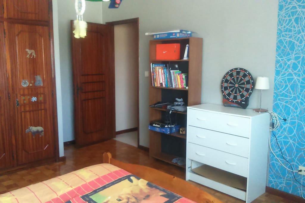 Chambre 2,  idéale pour des enfants