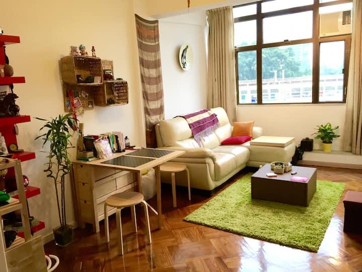 ❤❤SuperHost's Private Bedroom on HK Island @TinHau